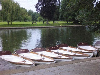 Avon rowboats before the flood...