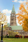 Peace Tower in Fall